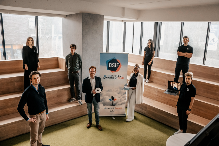 Clairify founders and DSIF board
