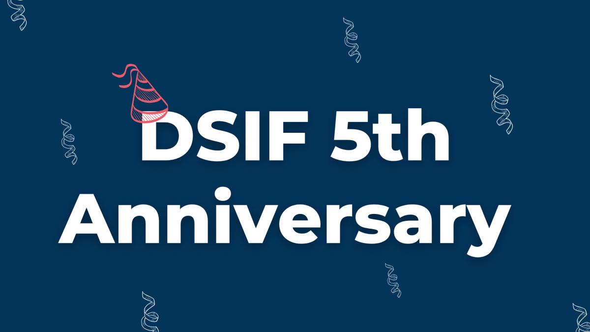 DSIF 5th Anniversary Announcement Cover Photo